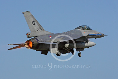 ABF16 00059 Lockheed Martin F-16 Fighting Falcon Dutch Air Force J511 by Paul Ridgway