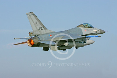 ABF16 00054 Lockheed Martin F-16 Fighting Falcon Dutch Air Force J005 by Paul Ridgway