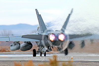 AB-EA-18GUSN 00003 A Boeing F-18G Growler USN takes-off in afterburner NAS Fallon 11-2013 military airplane picture by Peter J Mancus