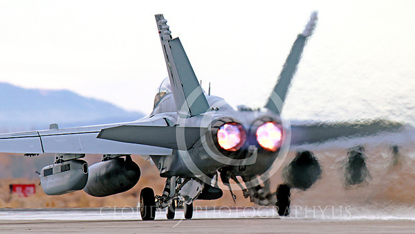 AB-EA-18GUSN 00006 A Boeing F-18G Growler USN takes-off in afterburner NAS Fallon 11-2013 military airplane picture by Peter J Mancus