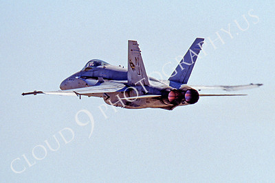 ABF18 00006 McDonnell Douglas F-18 Hornet US Navy by Peter J Mancus
