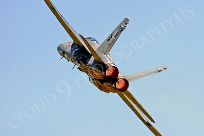 ABF18 00014 McDonnell Douglas F-18 Hornet US Navy by Peter J Mancus