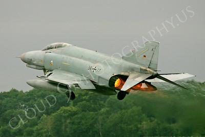 ABF4 00014 McDonnell Douglas F-4 Phanatom II German Air Force 3817 by Paul Ridgway