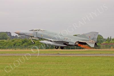 ABF4 00012 McDonnell Douglas F-4 Phantom II German Air Force 3829 by Paul Ridgway