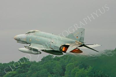 ABF4 00013 McDonnell Douglas F-4 Phantom II German Air Force by Paul Ridgway