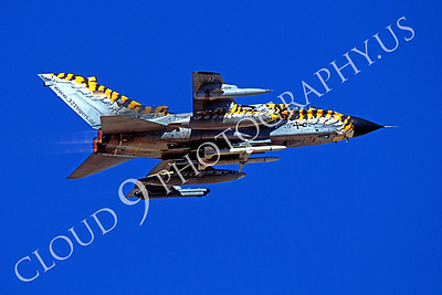 ABTorn 00001 Panavia Tornado, German Air Force tiger stripes March 2002 by Peter J Mancus