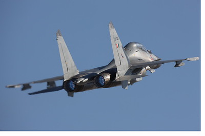 AB-Sukhoi-Su-30 Flanker 00004 AB-Sukhoi-Su-30 Flanker Indian Air Force by Peter J Mancus