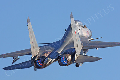 AB-Sukhoi Su-30 Flanker 00036 Sukhoi Su-30 Flanker Indian Air Force by Peter J Mancus