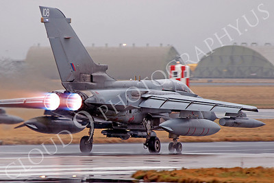 AB - Torn 00189 Panavia Tornado British RAF afterburner aircraft picture by Alasdair MacPhail