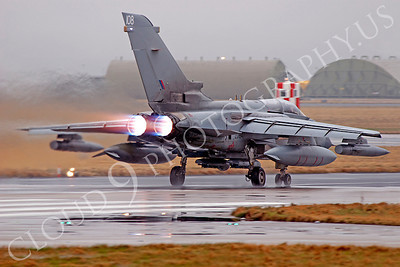 AB - Torn 00103 Panavia Tornado British RAF afterburner aircraft picture by Alasdair MacPhail
