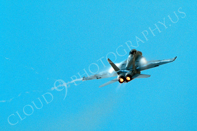 ABF18 00013 McDonnell Douglas F-18 Hornet US Navy by Peter J Mancus
