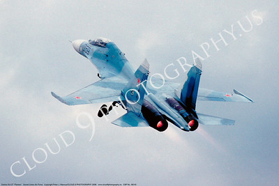 ABSu27 00001 Sukhoi SU-27 Flanker Soviet Air Force by Peter J Mancus