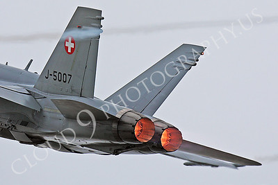 ABF18 00021 McDonnell Douglas F-18 Hornet Swiss Air Force by Peter J Mancus