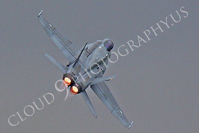 ABF18 00022 McDonnell Douglas F-18 Hornet Finnish Air Force by Peter J Mancus