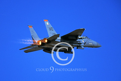 ABF15 00023 McDonnell Douglas F-15E Strike Eagle US Air Force 87198 MO tail code by Peter J Mancus
