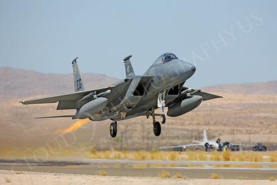 AB-F-15USAF 00080 McDonnell Douglas F-15 Eagle USAF Nellis AFB by Peter J Mancus