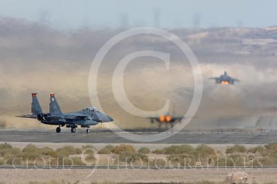 ABF-15 00087 McDonnell Douglas F-15E Strike Eagle US Air Force by Peter J Mancus