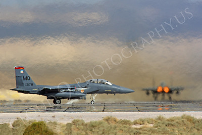 ABF-15 00029 McDonnell Douglas F-15E Strike Eagle US Air Force by Peter J Mancus