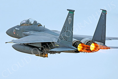 AB - F-15USAF 00110 McDonnell Douglas F-15E Strike Eagle USAF 890483 SJ by Peter J Mancus