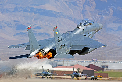 AB-F-15USAF 00008 McDonell Douglas F-15E Strike Eagle USAF 870188 by Peter J Mancus