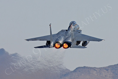 AB-F-15USAF 00050 McDonnell Douglas F-15E Strike Eagle USAF 870188 by Peter J Mancus
