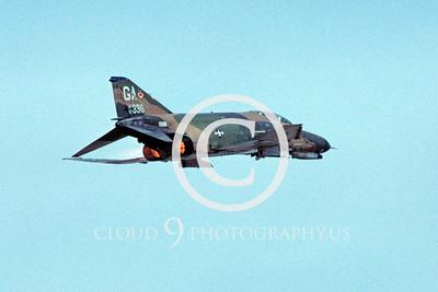 ABF4 00021 McDonnell Douglas F-4E Phantom II USAF 67336 GA tail code by Peter J Mancus