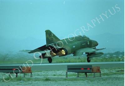 ABF4 00010 McDonnell Douglas F-4E Phantom II US Air Force 376 WA tail code by Peter J Mancus