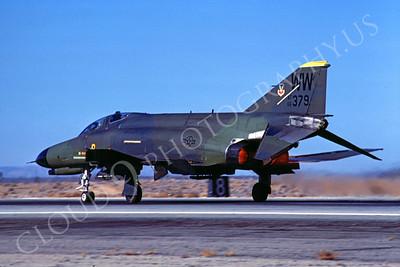 ABF4 00017 McDonnell Douglas F-4E Phantom II USAF 66379 WW tail code February 1987 by Peter B Lewis