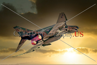AB-F-4-USAF 004D A McDonnell Douglas QF-4E Phantom II USAF jet fighter drone 162 82 ATRS HD code in afterburner, 2016, military airplane picture by Peter J Mancus     Dt