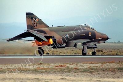 ABF4 00006 McDonnell Douglas F-4 Phantom II US Air Force 79164 WA tail code by Peter J Mancus