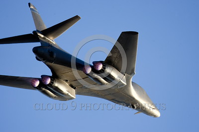 AB-B-1USAF 00020 A flying USAF Rockwell B-1B Lancer strategic jet bomber in afterburner military airplane picture by Peter J Mancus tif