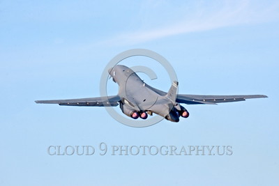 AB-B-1USAF 00021 An ED code USAF Rockwell B-1B Lancer strategic jet bomber takes off in afterburner military airplane picture by Peter J Mancus tif