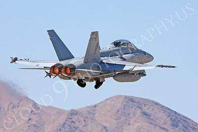 AB-F-18USMC 00046 McDonnell Douglas F-18D Hornet USMC VMFA(AW)-121 Nellis AFB by Carl E Porter