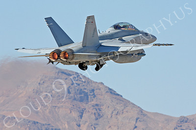 AB-F-18USMC 00024 McDonnell Douglas F-18D Hornet USMC VMFA(AW)-121 Nellis AFB by Carl E Porter