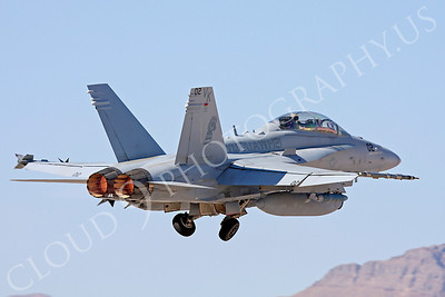 AB-F-18USMC 00026 McDonnell Douglas F-18D Hornet USMC VMFA(AW)-121 Nellis AFB by Carl E Porter