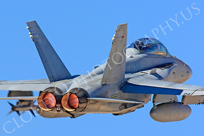 AB-F-18USMC 00006 McDonnell Douglas F-18D Hornet USMC VMFA(AW)-121 by Peter J Mancus