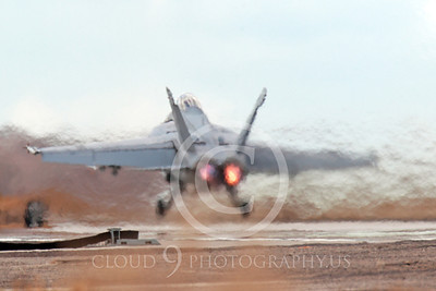 AB-F-18USN-S 00021 A Boeing F-18F Super Hornet takes off NAS Fallon 3-2013 military airplane picture by Peter J Mancus
