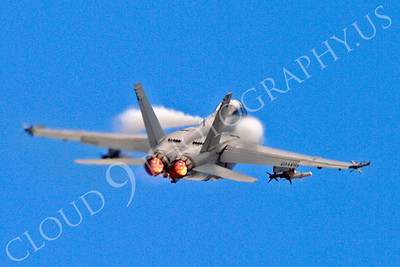AB - F-18USN-S 00044 Boeing F-18 Super Hornet US Navy jet fighter afterburner airplane picture by Stephen W D Wolf