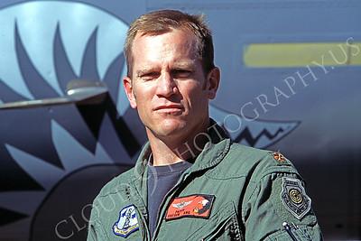 ACM 00017 F-15 fighter pilot Pappy Oregon Air National Guard by Peter J Mancus