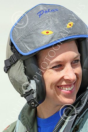ACM 00412 A tight facial portrait of one of three USN F-16 fighter pilots, 2014 NAS Fallon, by Peter J Mancus