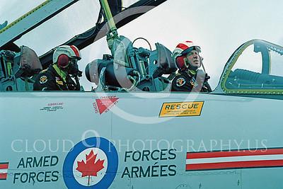 ACM 00023 Canadian CF-101B Voodoo air crew by Peter J Mancus