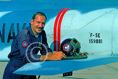ACM 00013 Major Lenny Bucko TOPGUN F-5 instructor pilot by Peter J Mancus