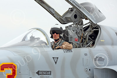 ACM 00323 A USN VFC-13 Saints pilot in his Northrop F-5E Freedom Fighter at NAS Fallon 7-2014 military airplane picture by Peter J Mancus