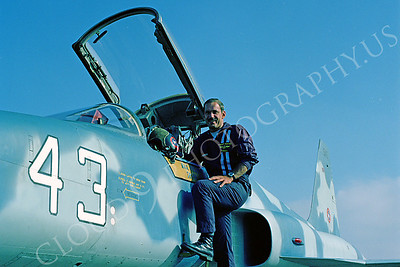ACM 00012 Major Lenny Bucko TOPGUN F-5 instructor pilot by Peter J Mancus