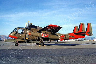 OV-1USA 00003 Grumman OV-1 Mohawk US Army 01890 January 1991 by Peter B Lewis