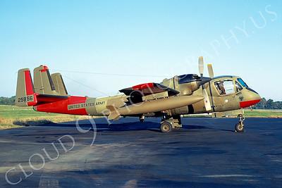 OV-1USA 00001 Grumman OV-1 Mohawk US Army 25856 11 October 1971 Dulles Airport by David Ostrowski