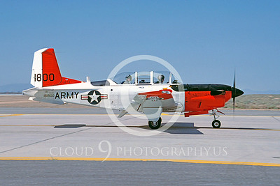 T-34USA 00001 Beech T-34C Turbo Mentor US Army by Michael Grove, Sr