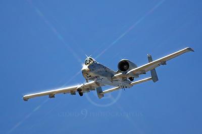 A-10USAF 00086B Fairchild Republic A-10 Thunderbolt II Warthog USAF by Peter J Mancus