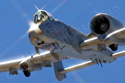 A-10USAF 00086E Fairchild Republic A-10 Thunderbolt II Warthog USAF by Peter J Mancus