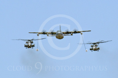 AAR 00117 A USMC Lockheed KC-130 Hercules and two USMC Sikorsky CH-53 Sea Stallion helicopters prepare to aerial refuel airplane picture, by Peter J Mancus